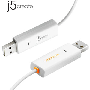 J5CREATE JUC400 Wormhole Switch USB 2.0 Transfer Cable