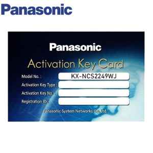 Panasonic PBX Activation Key KX-NCS2249WJ