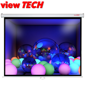 VIEWTECH 52 X 96 PULLDOWN WALL SCREEN