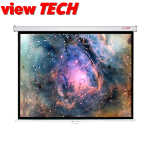 VIEWTECH 70 X 70 PULLDOWN WALL SCREEN