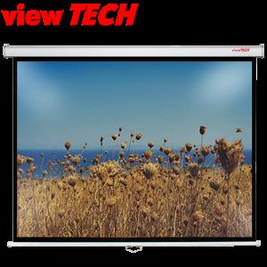 VIEWTECH 96 X 120 Pulldown Wall Screen