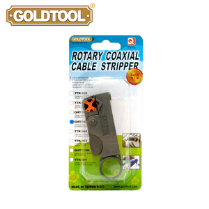 GOLDTOOL GHT-322 Cable Stripper 3 Blades