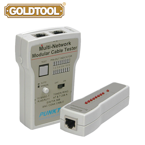 GOLDTOOL TCT-141 LAN Cable Tester