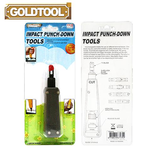 GOLDTOOL TTK-030 Impact Punch-Down Tools