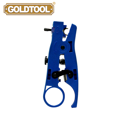 GOLDTOOL TTK-055 Universal UTP/STP Flat Cable Stripper and Cutter