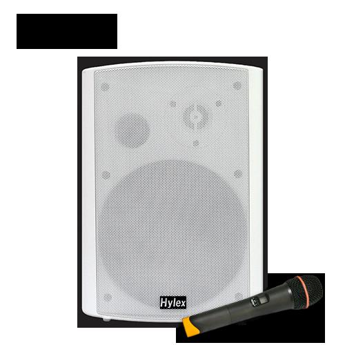 Hylex WDA-30 Active Speaker with Handheld Microphone